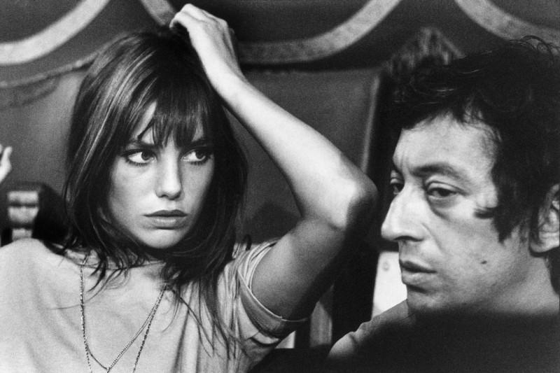 Jane Birkin et Serge Gainsbourg, 1969, Tony Frank