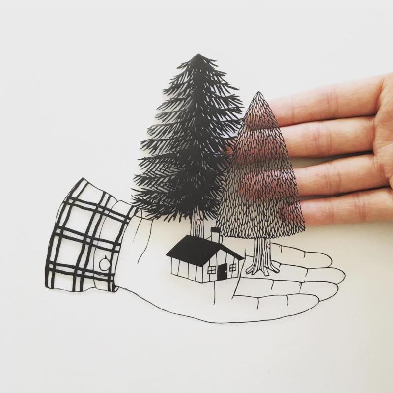 Kanako Abe, Papercut
