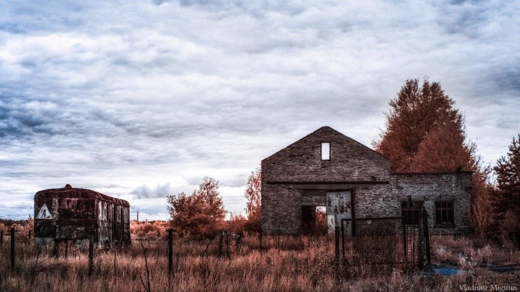 Une ferme abandonnée, Chernobyl Exclusion Zone