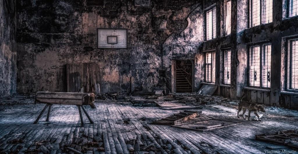 Salle de sport de Pripyat, Chernobyl Exclusion Zone