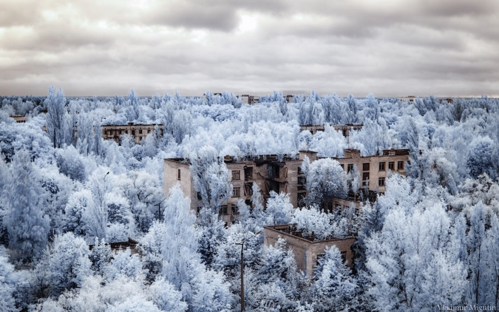 La ville fantôme de Pripyat, Chernobyl Exclusion Zone