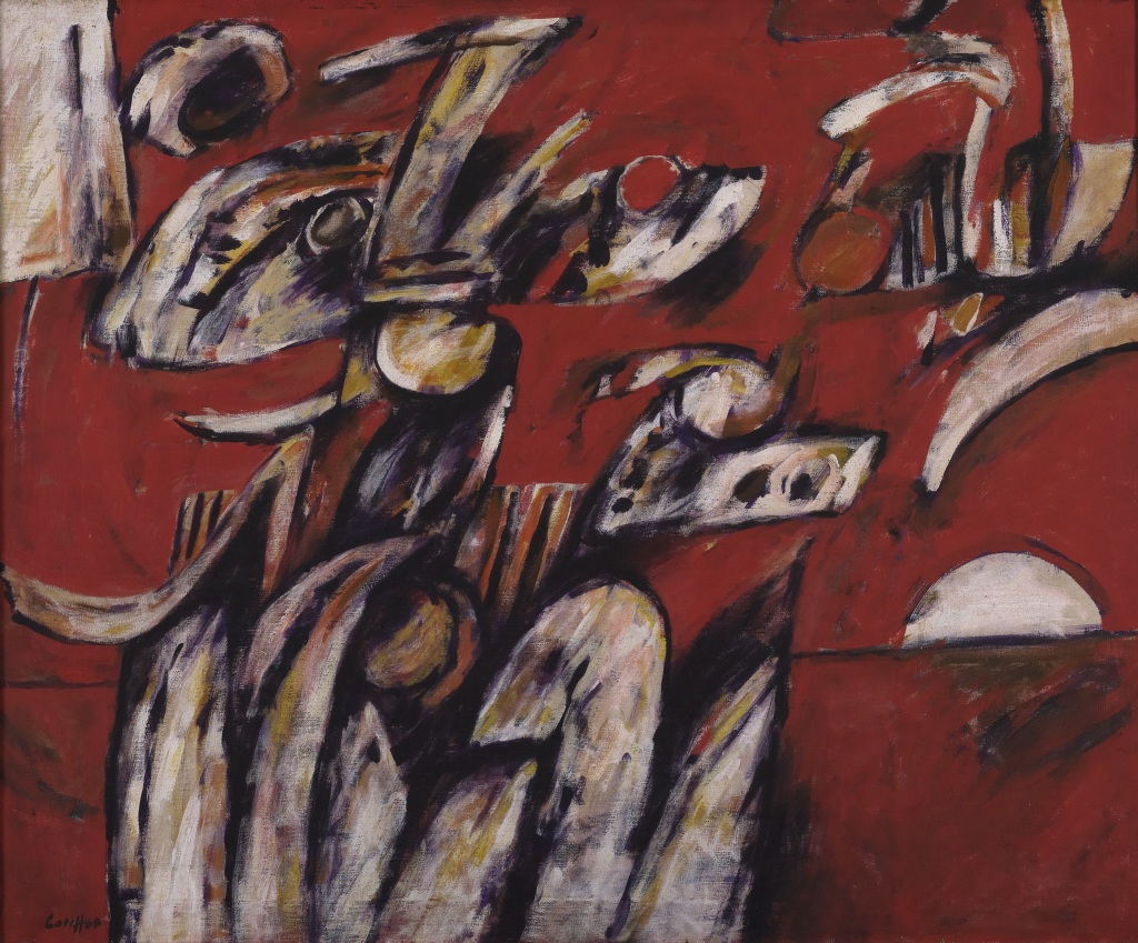 Latiff Mohidin, Malam Merah, 1968, collection de Zain Azahari