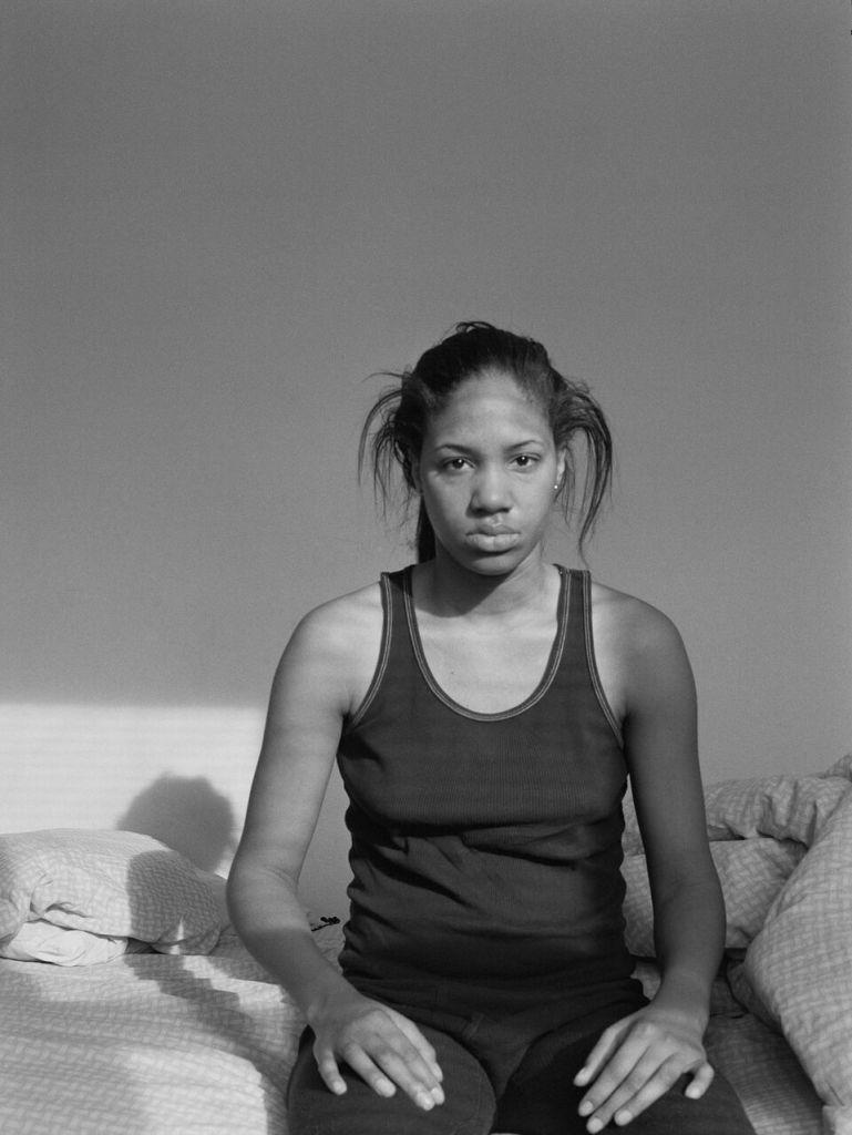 LaToya Ruby Frazier Self Portrait (Lupus Attack), 2005gelatin silver print 61 x 50,8 cmPinault Collection © LaToya Ruby Frazier