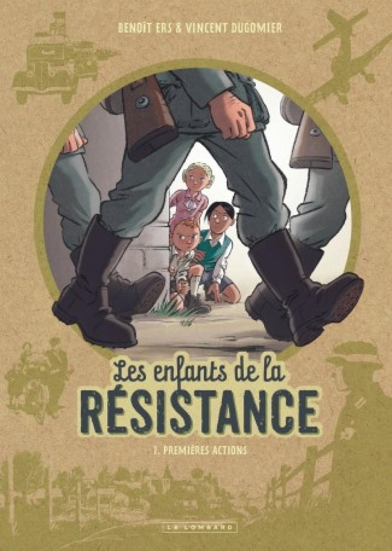 Les enfants de la résistance - Lombard