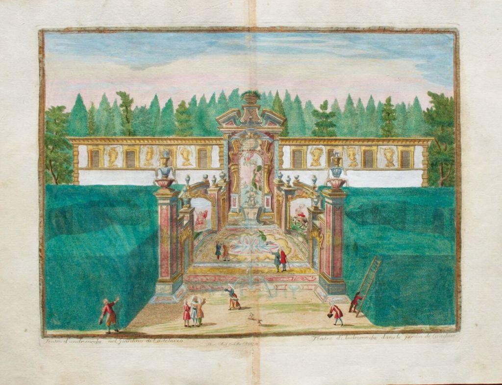 Marc'Antonio Dal Re, Le Delizie della Villa di Castellazzo [Les délices de la villa de Castellazzo], Milan 1743, Bibliothèque de FSG, Milan