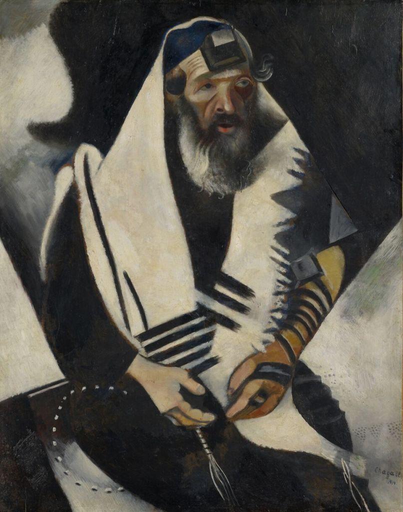 Marc Chagall, Le Juif en noir et blanc, 1914