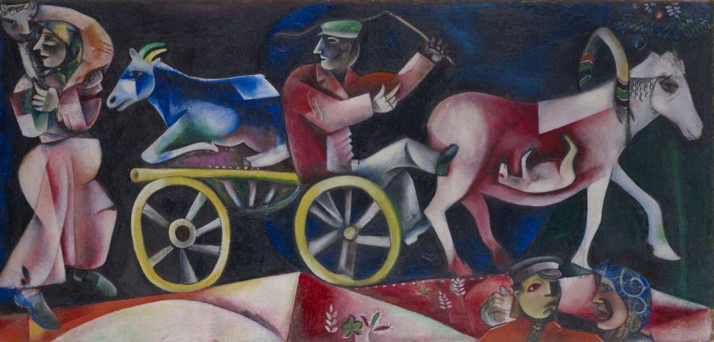Marc Chagall, Le marchand de bestiaux,1912