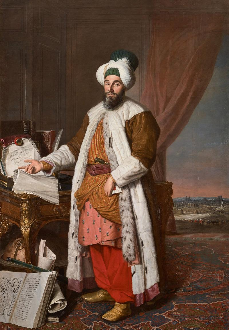 Memhed Said Efendi, Ambassador of the Sublime Porte
