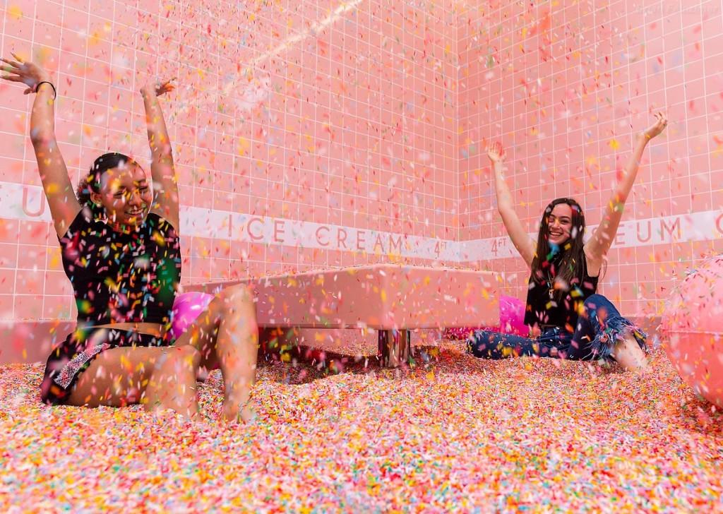 Maryellis Bunn au Musée de la Crème Glacée - Los Angeles
