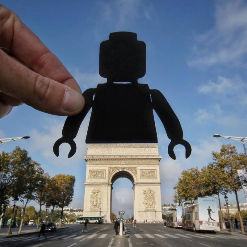 © Paperboyo - Playmobil Arc de Triomphe