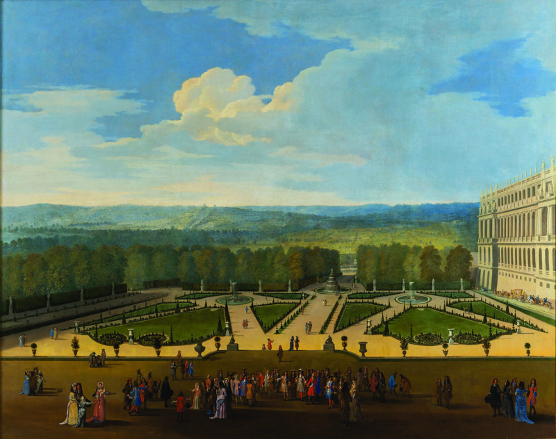 Promenade of Louis XIV in Front of the North Parterre_300dpi