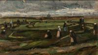 «Raccomodeuses de filets dans les dunes» (détail), 1882, Vincent Van Gogh