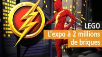 Super-héros DC en Lego - La Villette