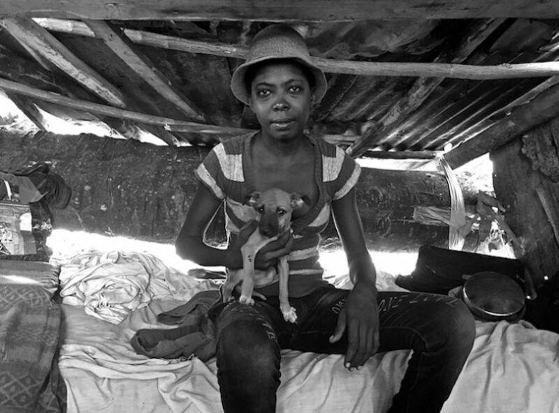 Survivante de l'ouragan Matthew, Les Cayes, Haïti. (© Giles Clarke, grand gagnant)