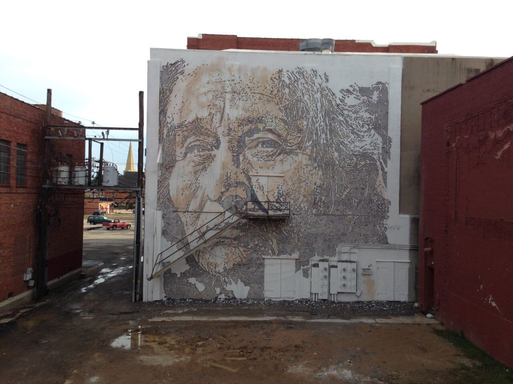 VHILS, Forth Smith, Arkansas, 2015 - credit Andre Santos