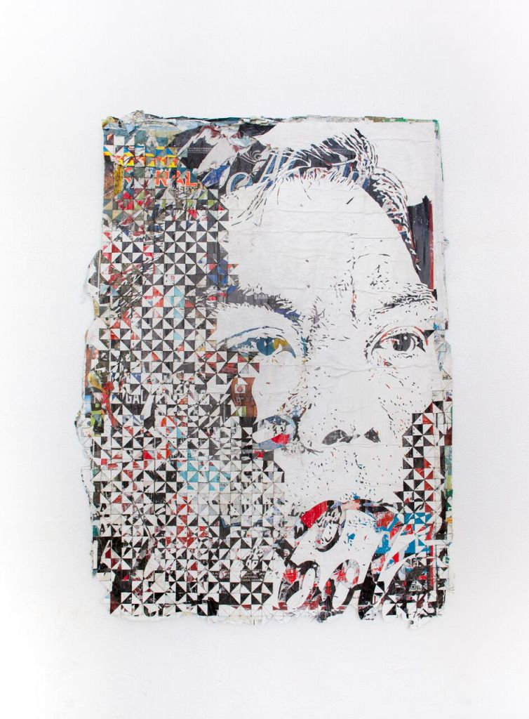 VHILS, Intensification #6 ©Vhils