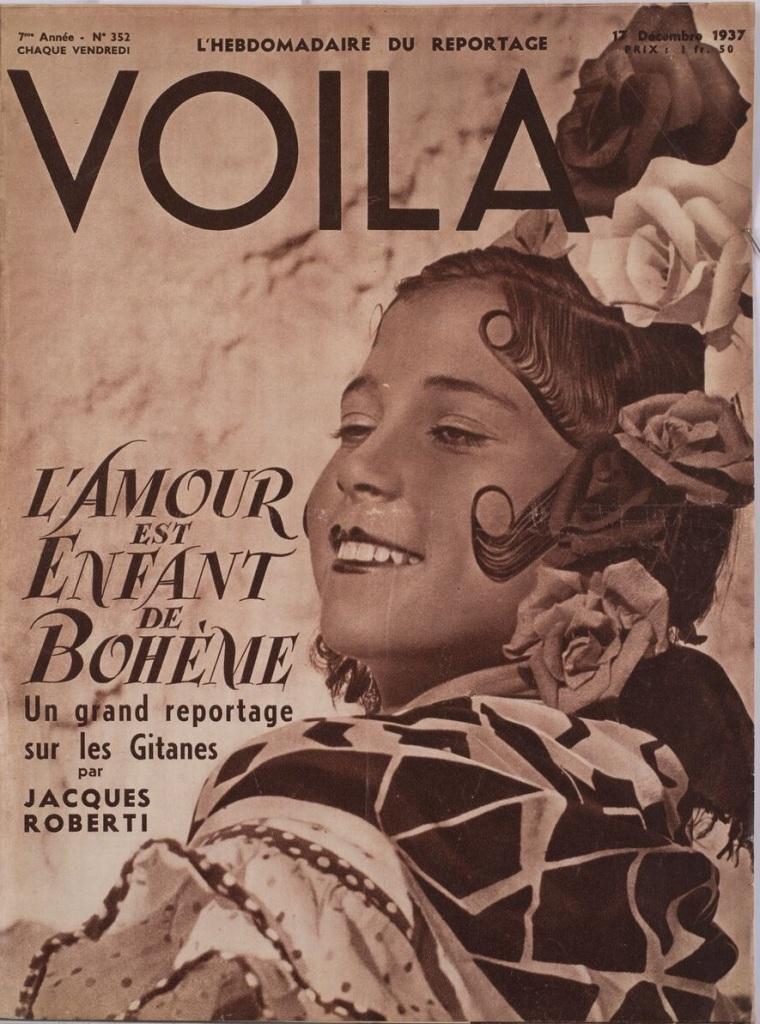 L'Amour est enfant de Bohème », Voilà, n°352, 17 décembre 1937