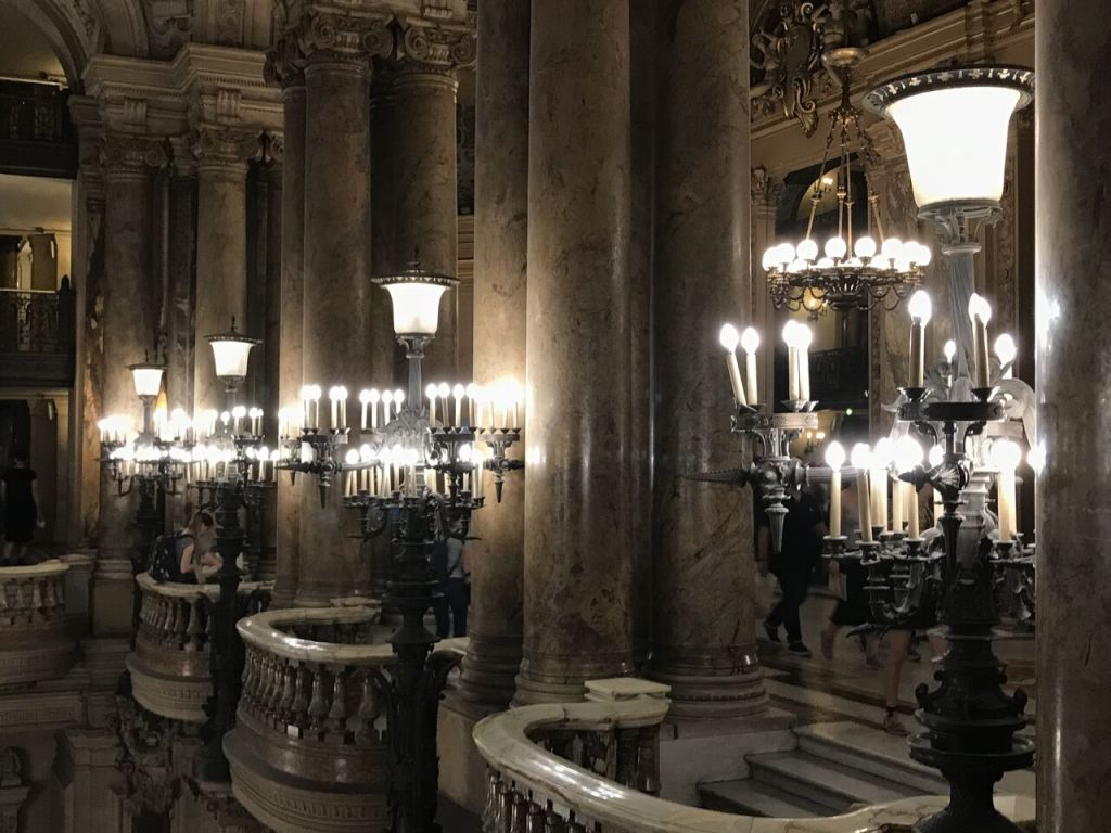 Vue de l'Escape Game - Palais Garnier