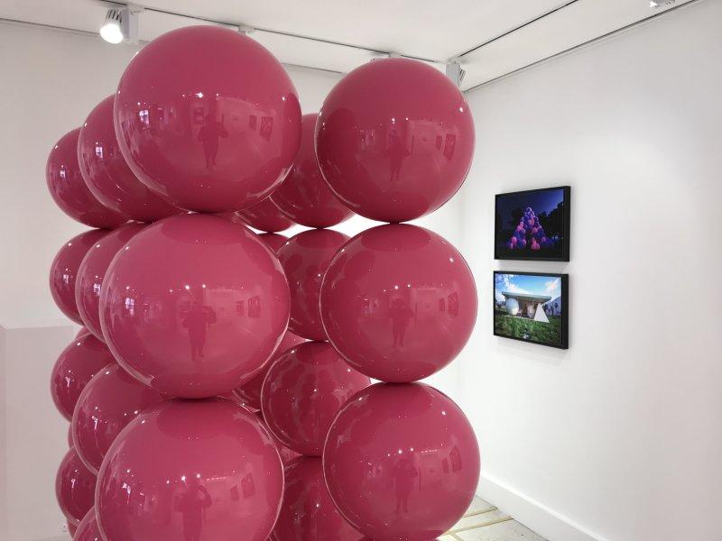 Vue de l'exposition Cyril Lancelin - MR 80