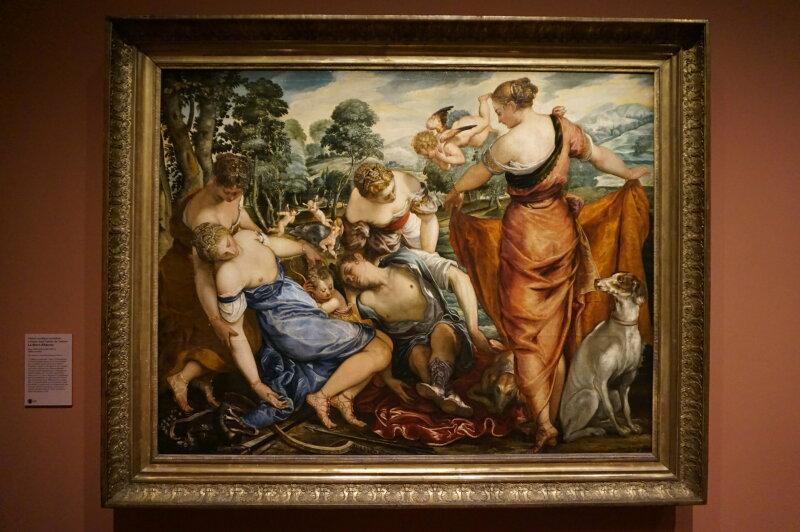 Vue de l'exposition Tintoret, Naissance d'un génie - Musée du Luxembourg
