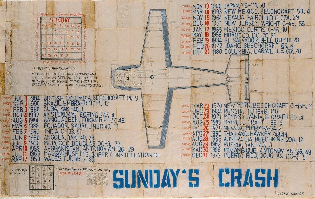 Widener George, Sunday's Crash, 1786