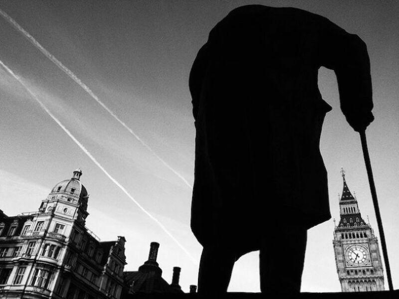 Winston & Ben. (© Richard Chambury, gagnant de la catégorie silhouettes)