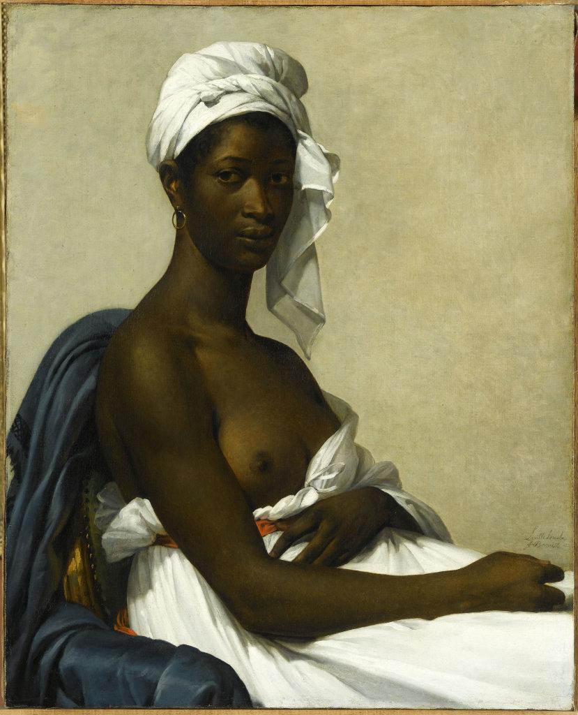 Marie Guillemine Benoist, Portrait d'une femme noire, 1800