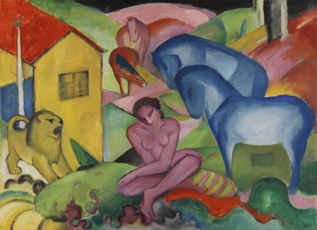 Franz Marc, Le Rêve [Der Traum], 1912