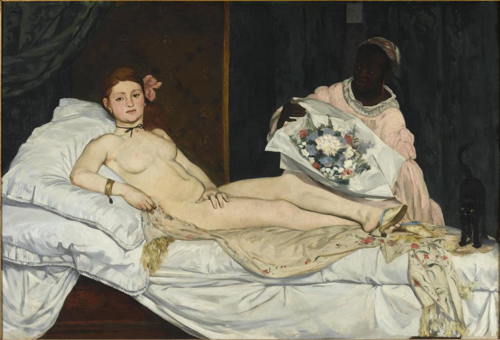 Edouard Manet, Olympia, 1865