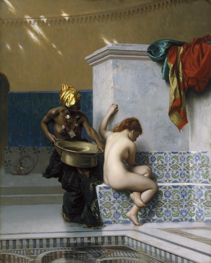 Jean-Léon Gérôme, Le Bain turc, 1872