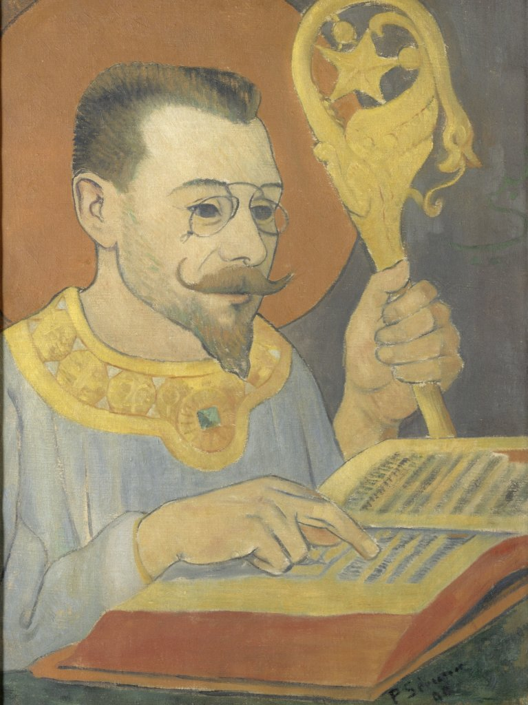 Paul Sérusier, Portrait de Paul Ranson en tenue nabique, 1890