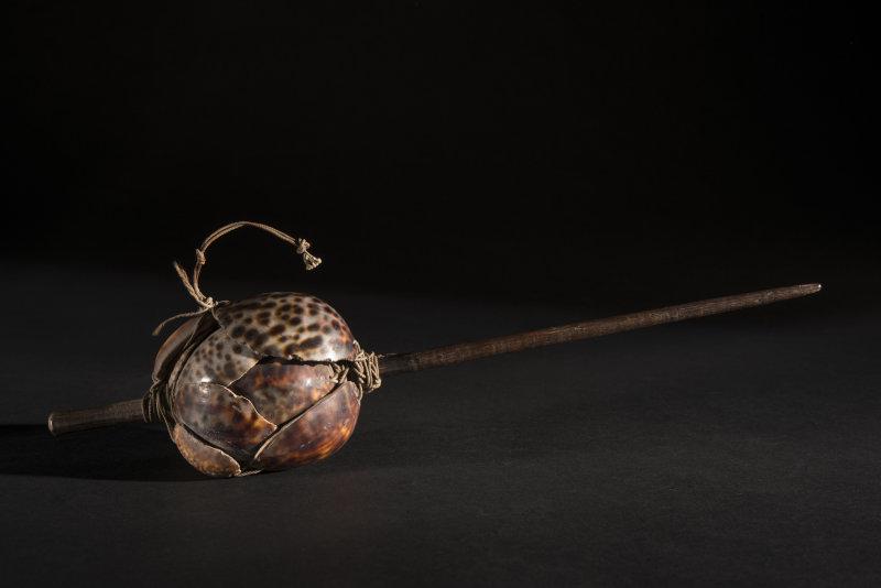 Leurre à poulpe, Iles de la Société (Polynésie), Musée d'Aquitaine, Bordeaux, inv.: 12 735