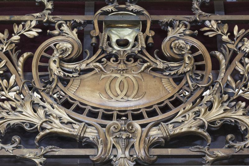 Balustrade du 2ème balcon DR RMN-Grand Palais - Christophe Chavan