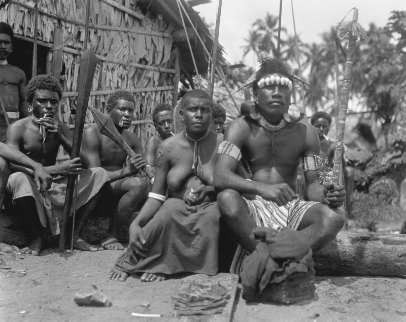 Habitants de l'île de Guadalcanal
