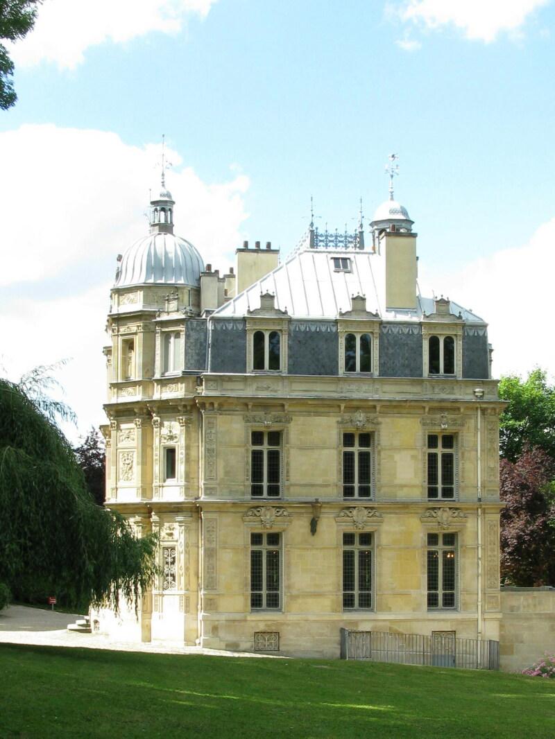 Façade du Château de Monte-Cristo