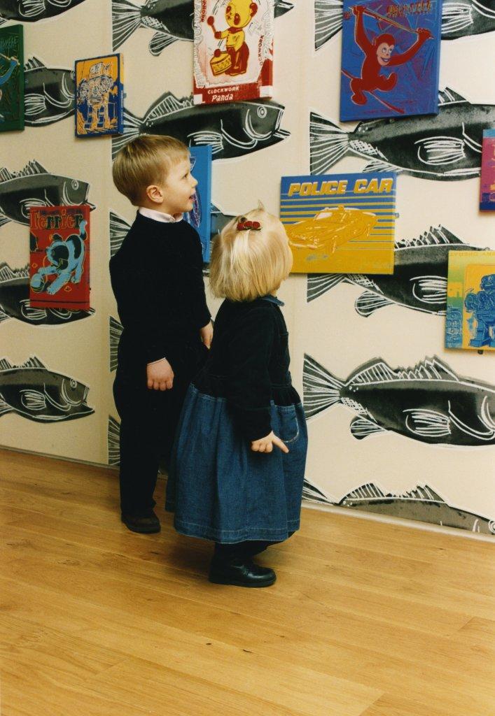 Vue de l'exposition Andy Warhol, Galerie Jérôme de Noirmont, Paris, 29 novembre 1996 -25 janvier 1997