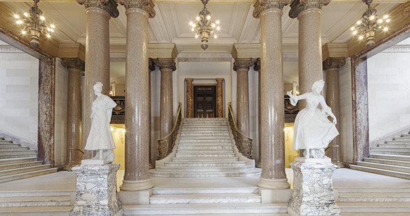Le vestibule d'entrée DR RMN-Grand Palais - Christophe Chavan