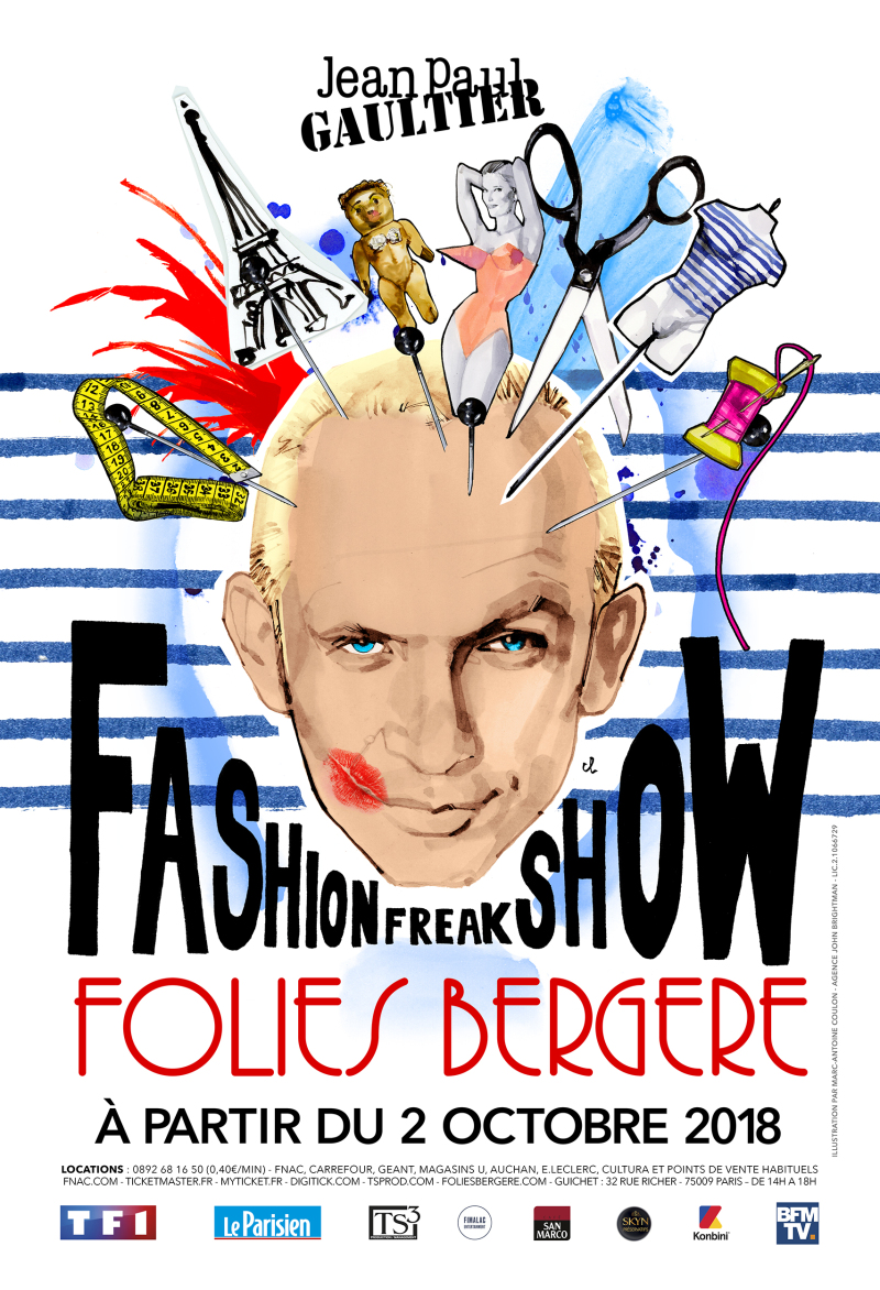 Fashion Freak Show, Jean-Paul Gaultier aux Folies Bergère