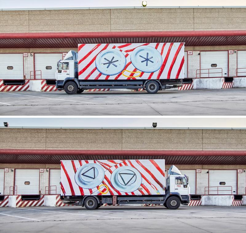 Ana Barriga. (© Truck Art Project) verso