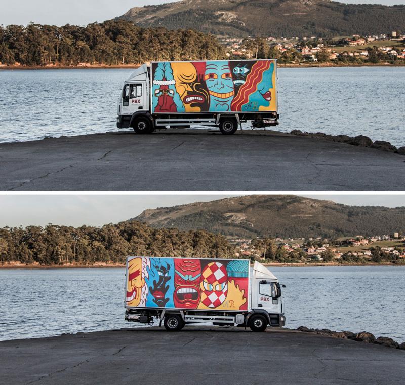 Andy Rivas. (© Truck Art Project)