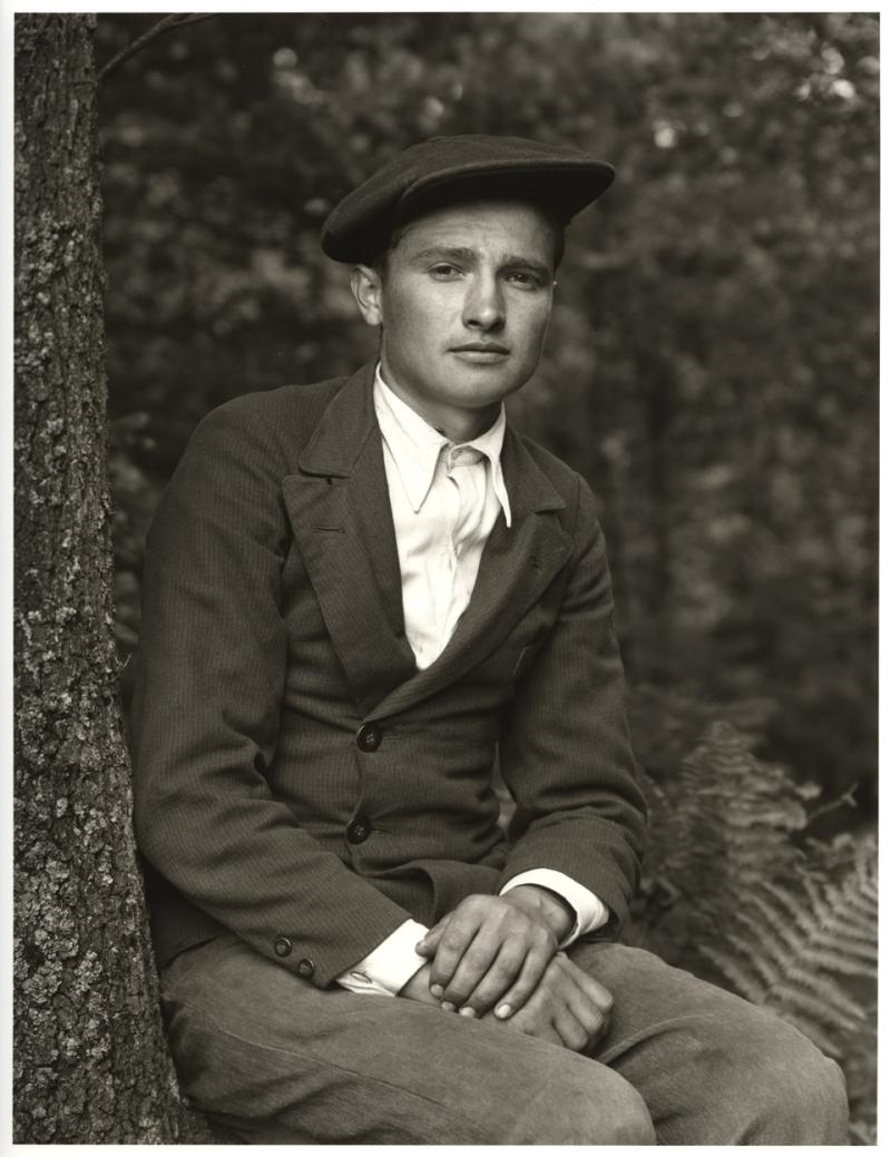 August Sander, Travailleur étranger — La Grande Ville, Travailleurs étrangers, 1941-1945 © Die Photographische Sammlung