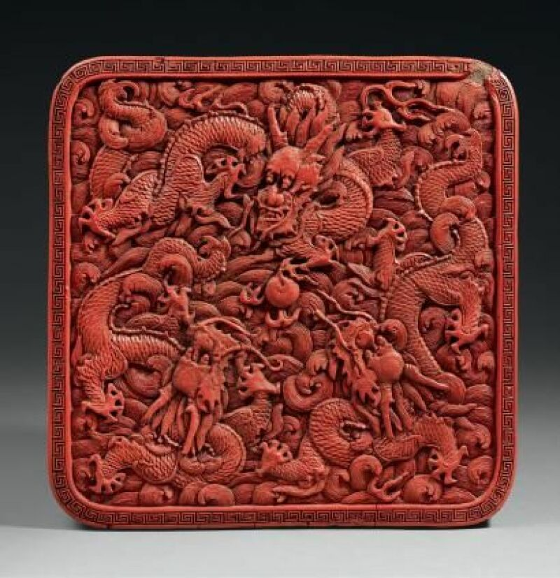 Boîte époque Qianlong