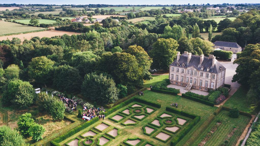Château de Carneville en Normandie