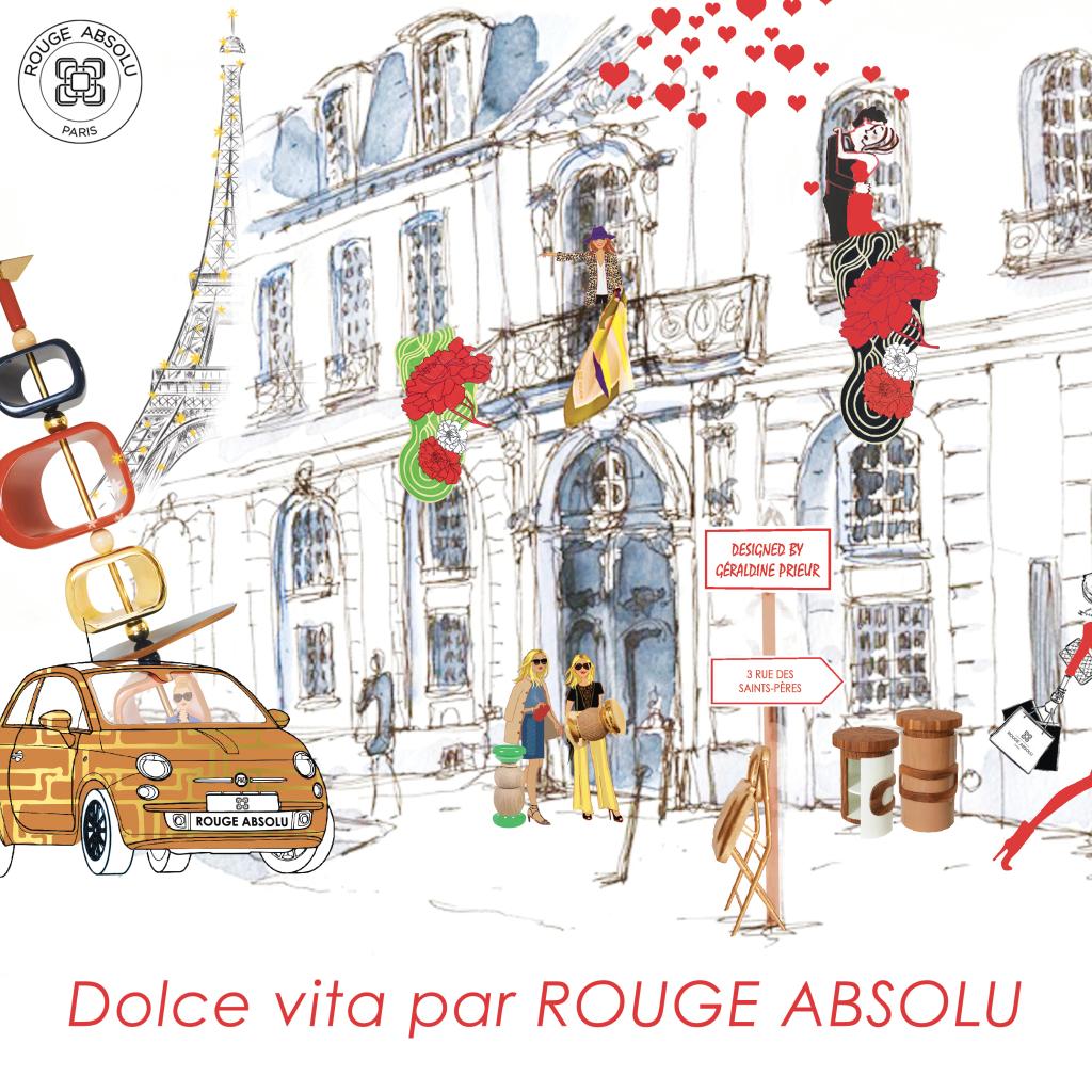 Dolce Vita (Galerie Rouge Absolu)