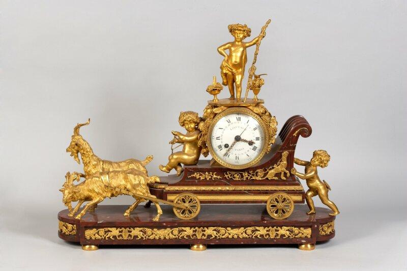 Pendule époque LouisXVI - Dolce Vita (GalerieFrancoisHayem)
