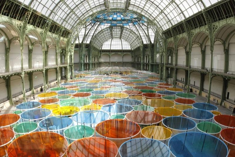 Daniel Buren, Monumenta, Grand Palais