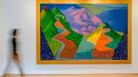 David Hockney, Pacific Coast Highway and Santa Monica