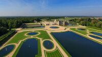 Domaine de Chantilly, vue aérienne