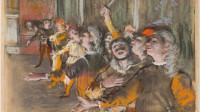 Edgar Degas , les Choristes, Paris Musée d'orsay, photo © Musée d'Orsay, Dist RMN Grand Palais Patrice Schmidt