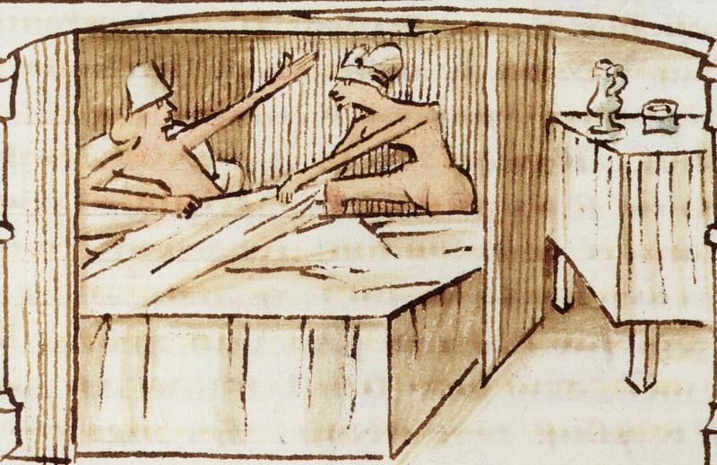 Une épouse enthousiaste, Roman du comte d'Artois, Paris, BnF, ms Français 11610, folio 87 verso (XVe siècle)